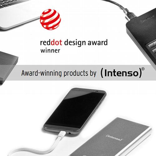 Intenso Erhält Für Die Quick Charge Powerbank Q10000 Den Red Dot